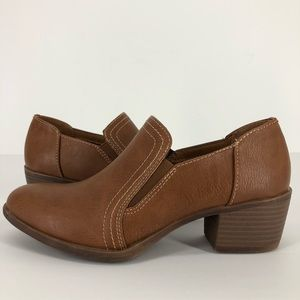 Sofft Euro Soft 6.5 Augusta Booties Shoes Brown